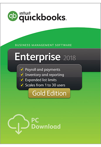 2018 QuickBooks Enterprise Gold