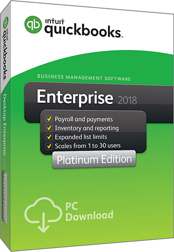 2018 QuickBooks Enterprise Platinum