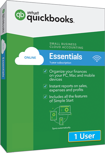 2018 QuickBooks Online Essentials 1 User