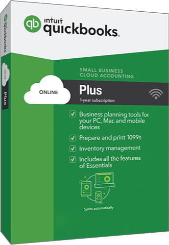 2018 QuickBooks Online Plus + QBO 1 User