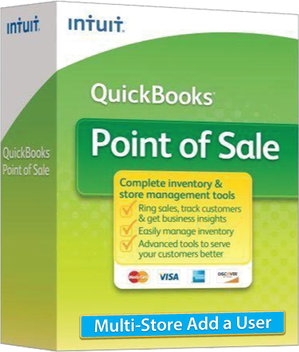 2018 QuickBooks Point of Sale: Multi-Store Add User