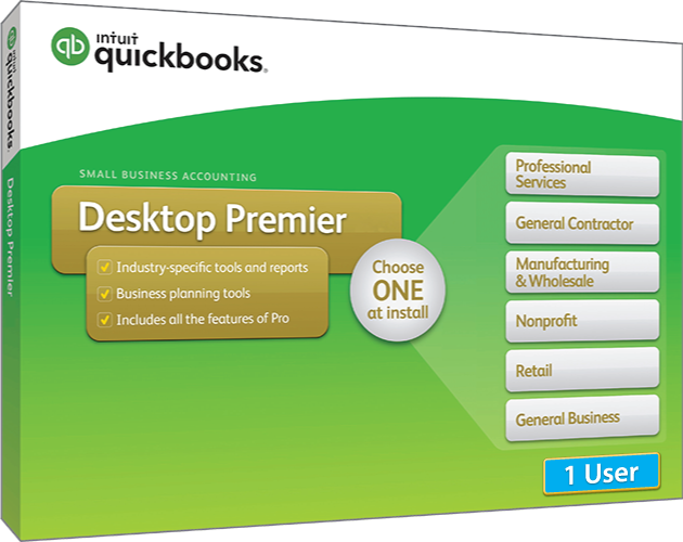 2018 Intuit QuickBooks Desktop PREMIER Version 1 User