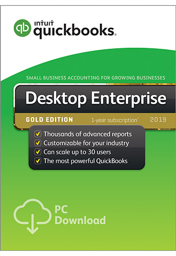 2019 QuickBooks Enterprise Gold