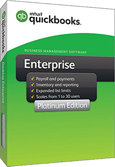 QuickBooks Enterprise 2017 Platinum Edition