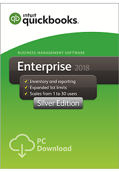 QuickBooks Enterprise 2018 Silver Edition