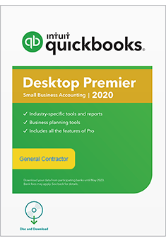 QuickBooks Premier 2020 General Contractor